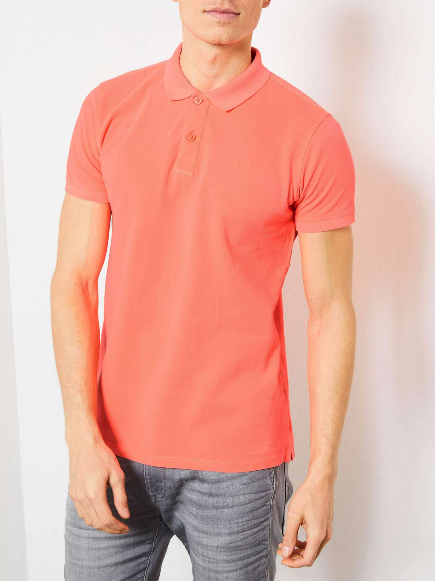 Colourful polo shirt