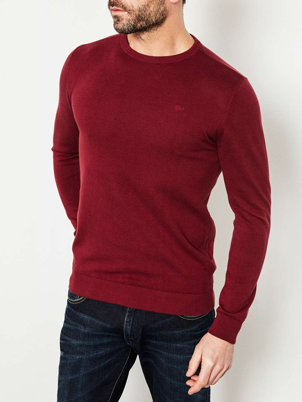 Knitwear Round Neck Basic Collection
