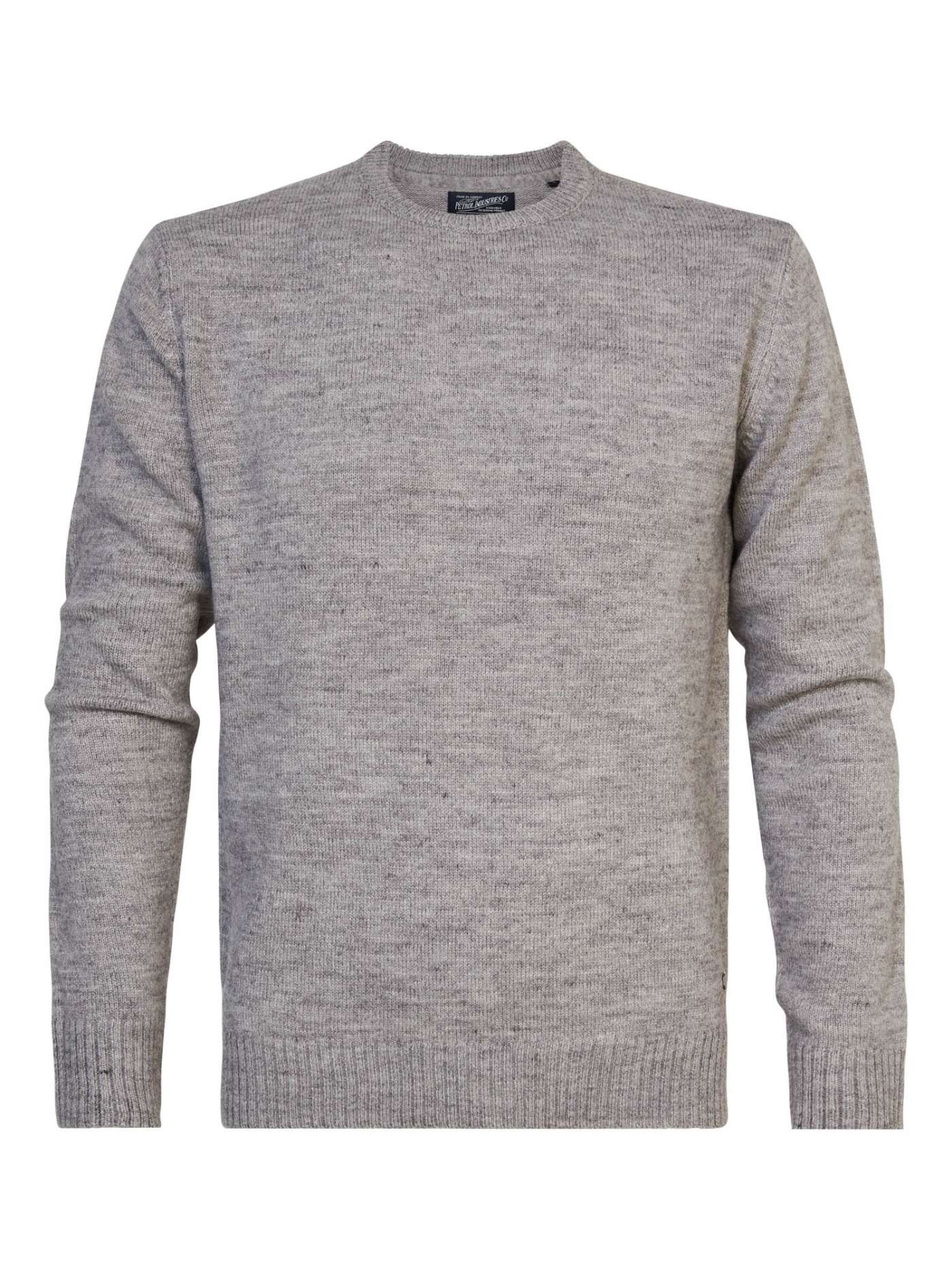Wool-mix pullover