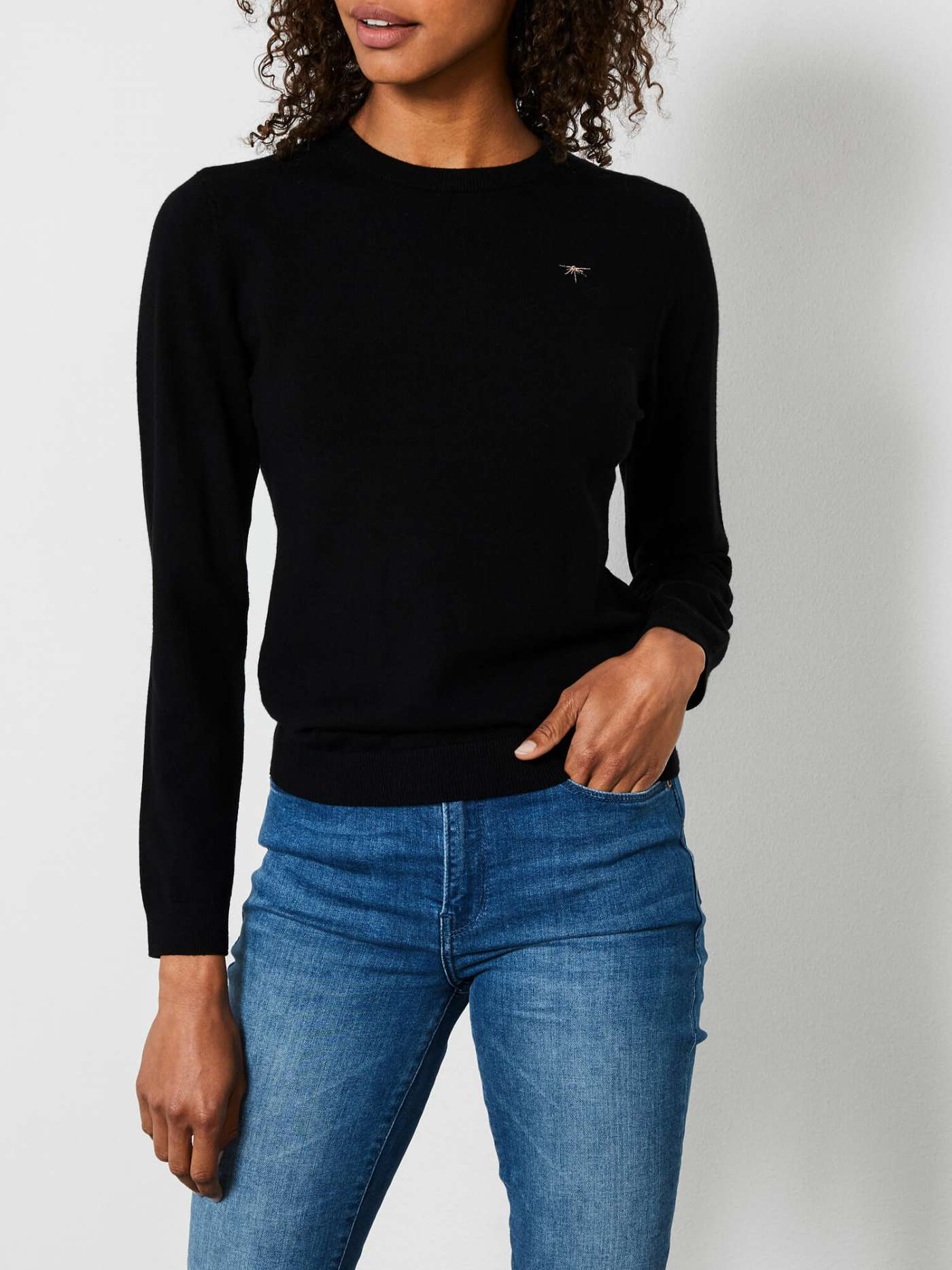 Comfy-knit pullover