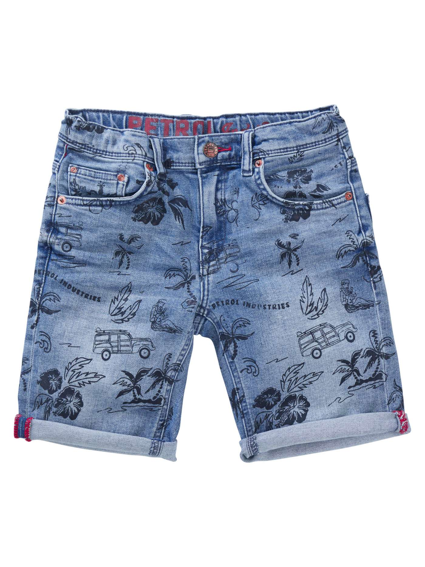 Bobcat denim shorts