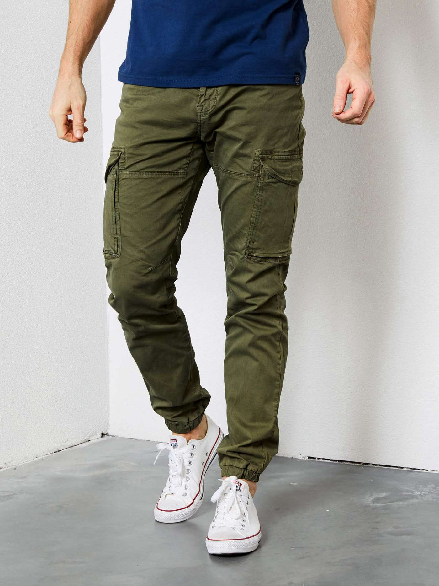 Utility cargo trousers