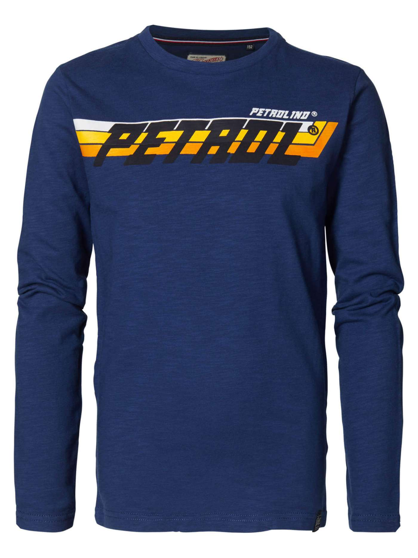 Long-sleeved shirt with racing details