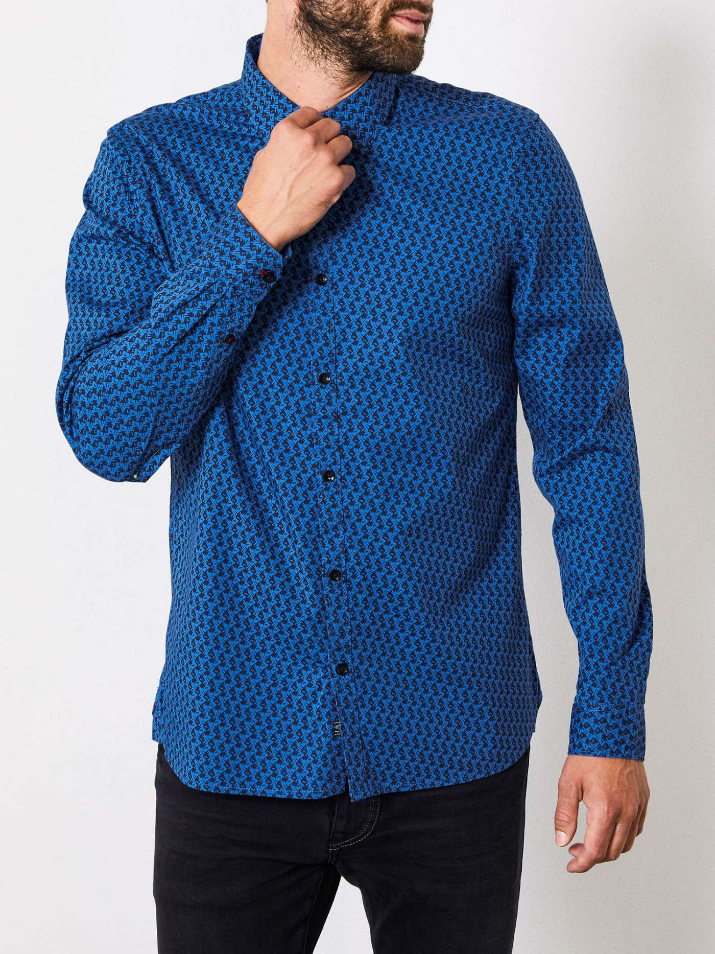 Casual Patterned Shirt