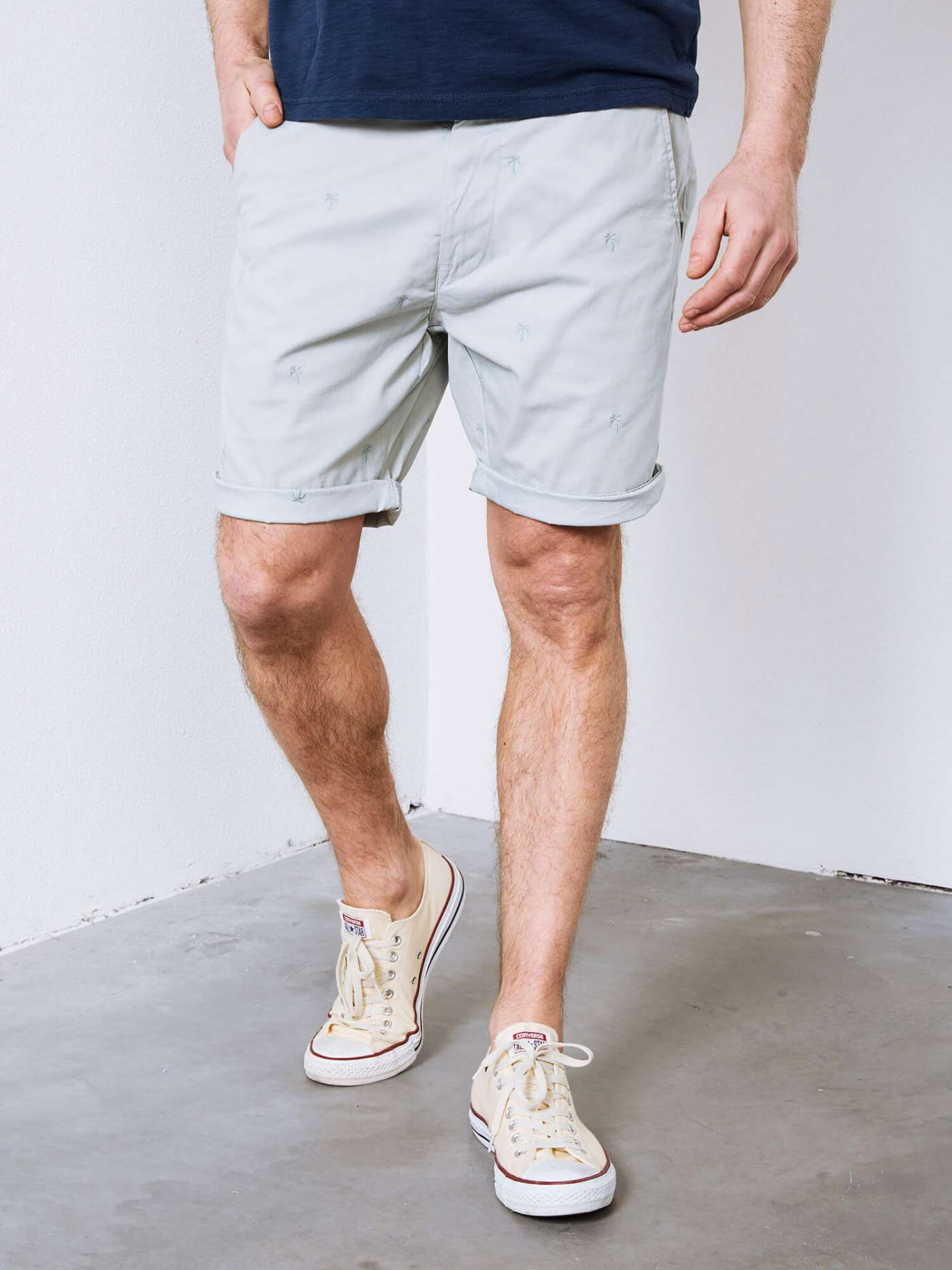 Shorts with palm trees