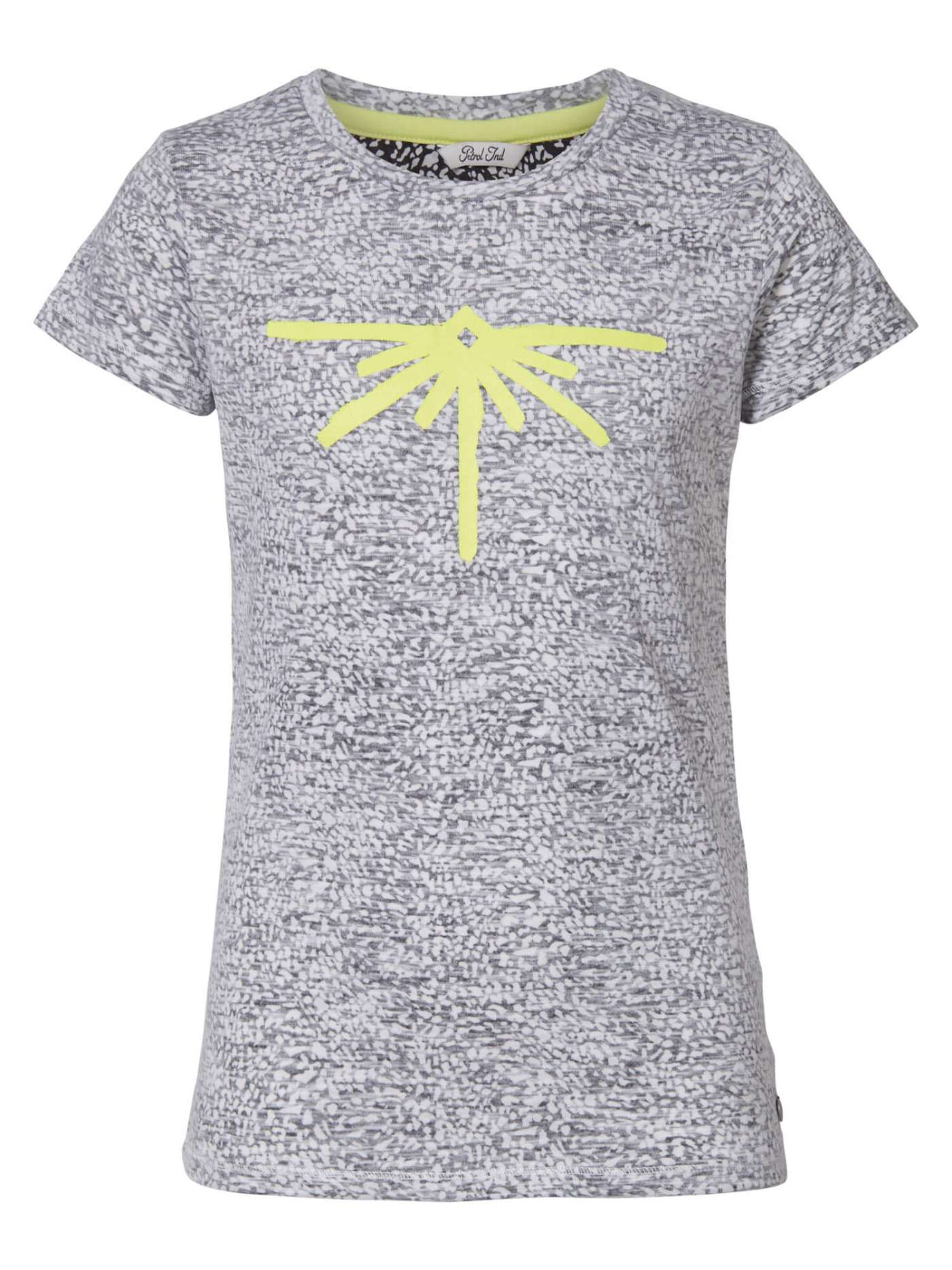 Yellow sparkle up T-shirt