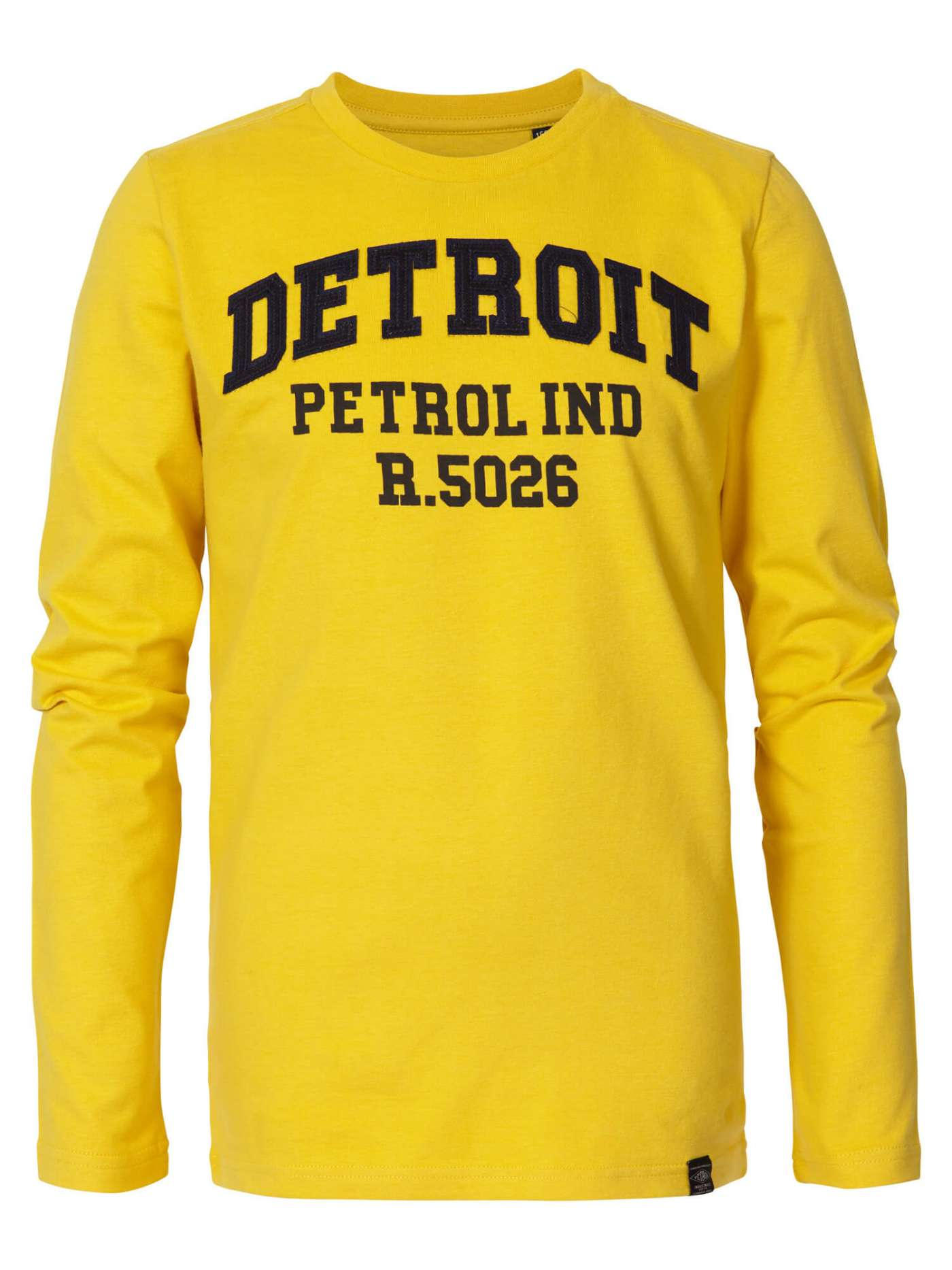 Long-sleeved Detroit coloured shirt