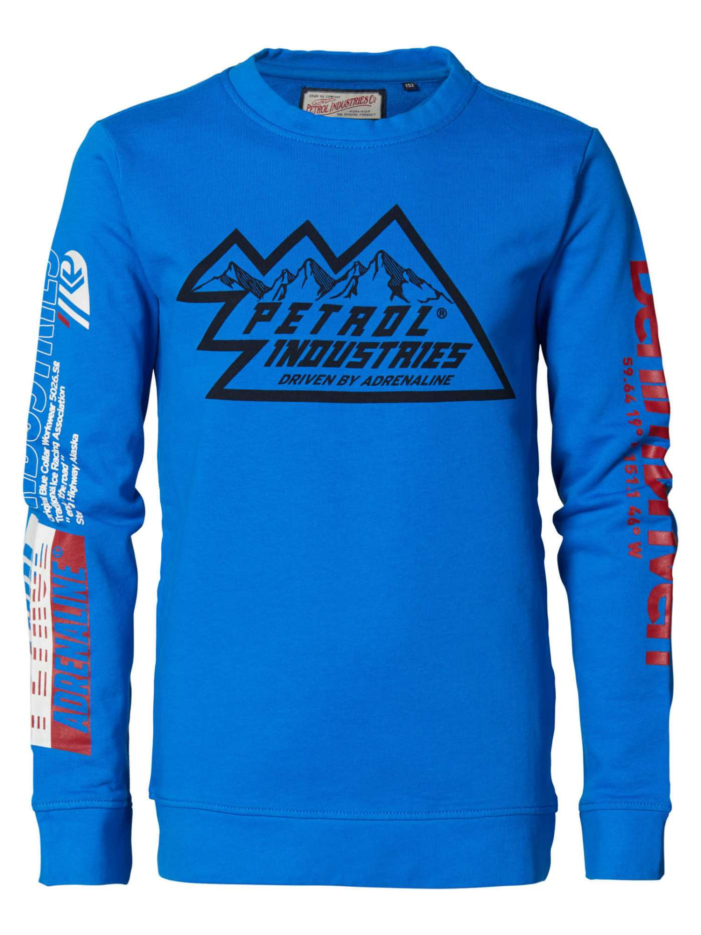 Pullover with logo artwork