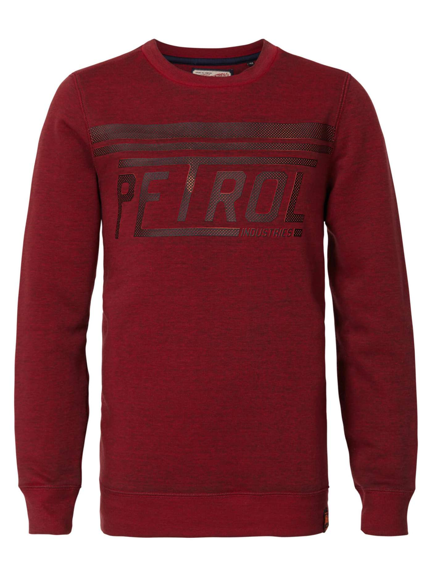 Racing-effect pullover